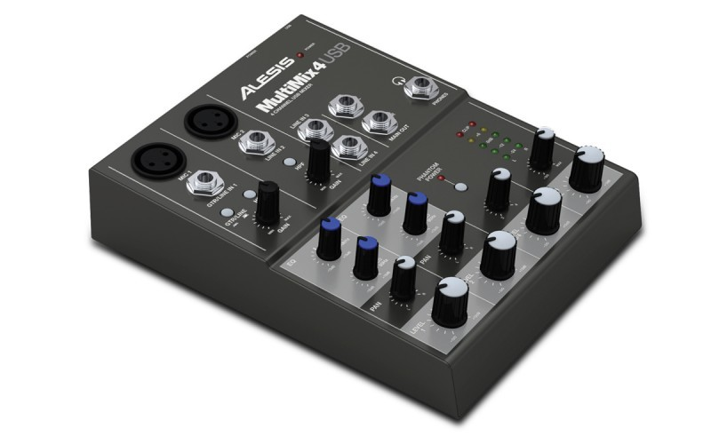 Alesis Multimix 4 USB keverő